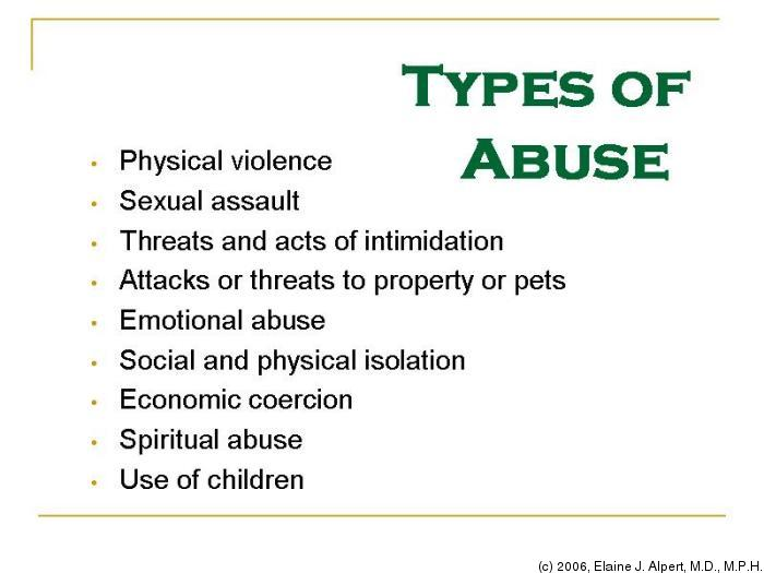 Abuse types